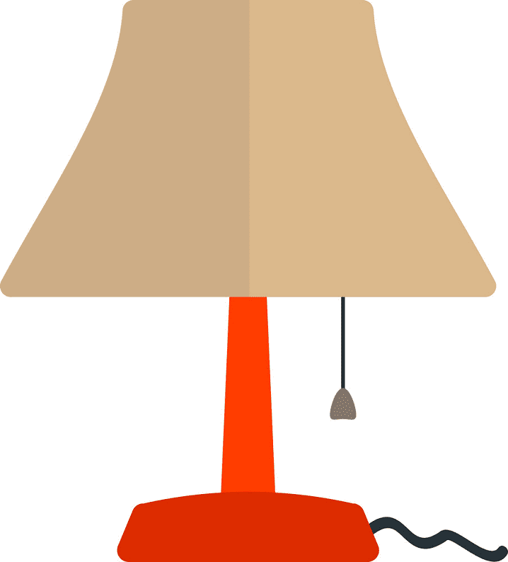 Lamp clipart for free