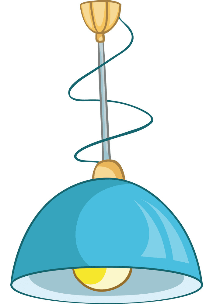 Lamp clipart for kid