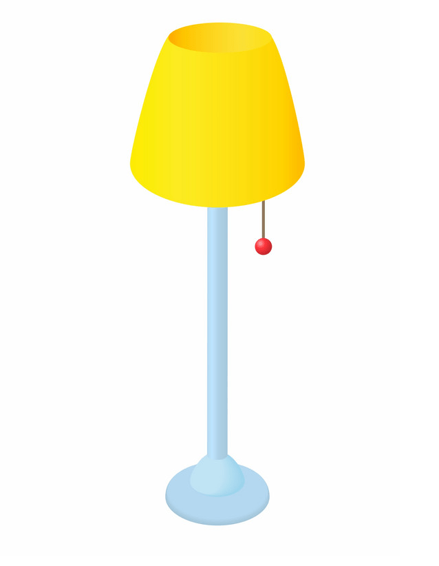 Lamp clipart free image