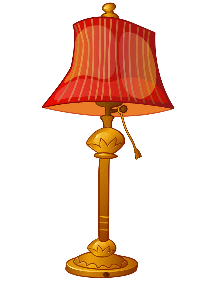Lamp clipart png for kids