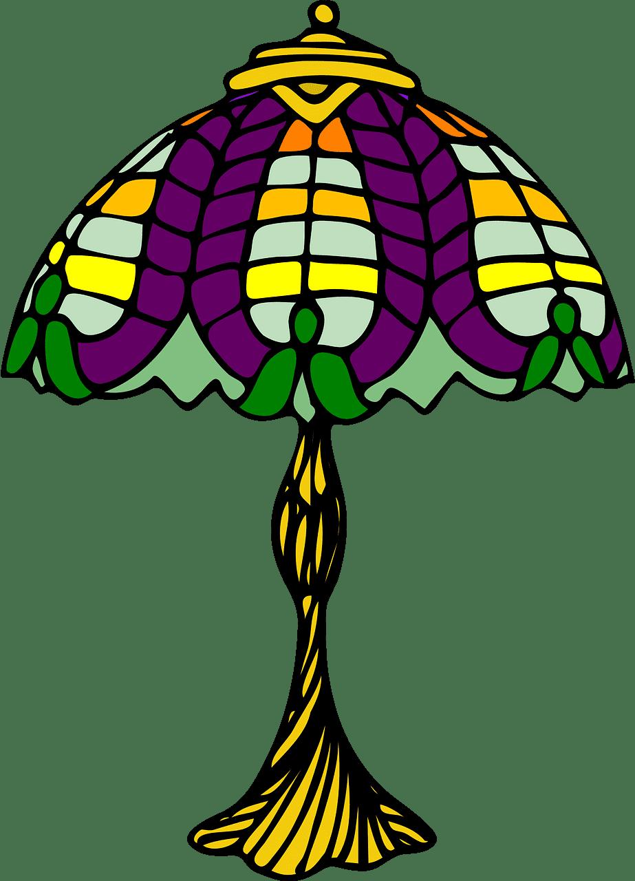 Lamp clipart transparent 4