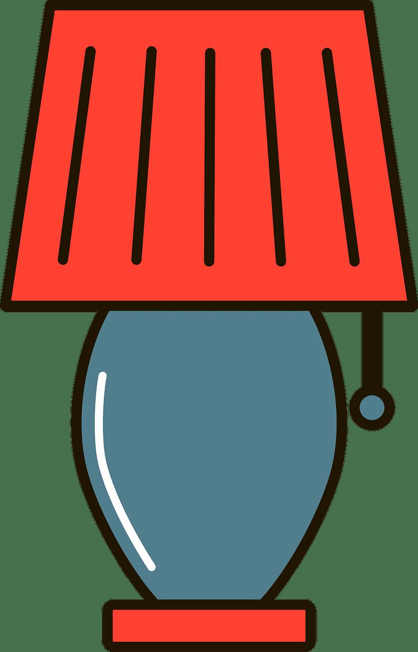 Lamp clipart transparent 9