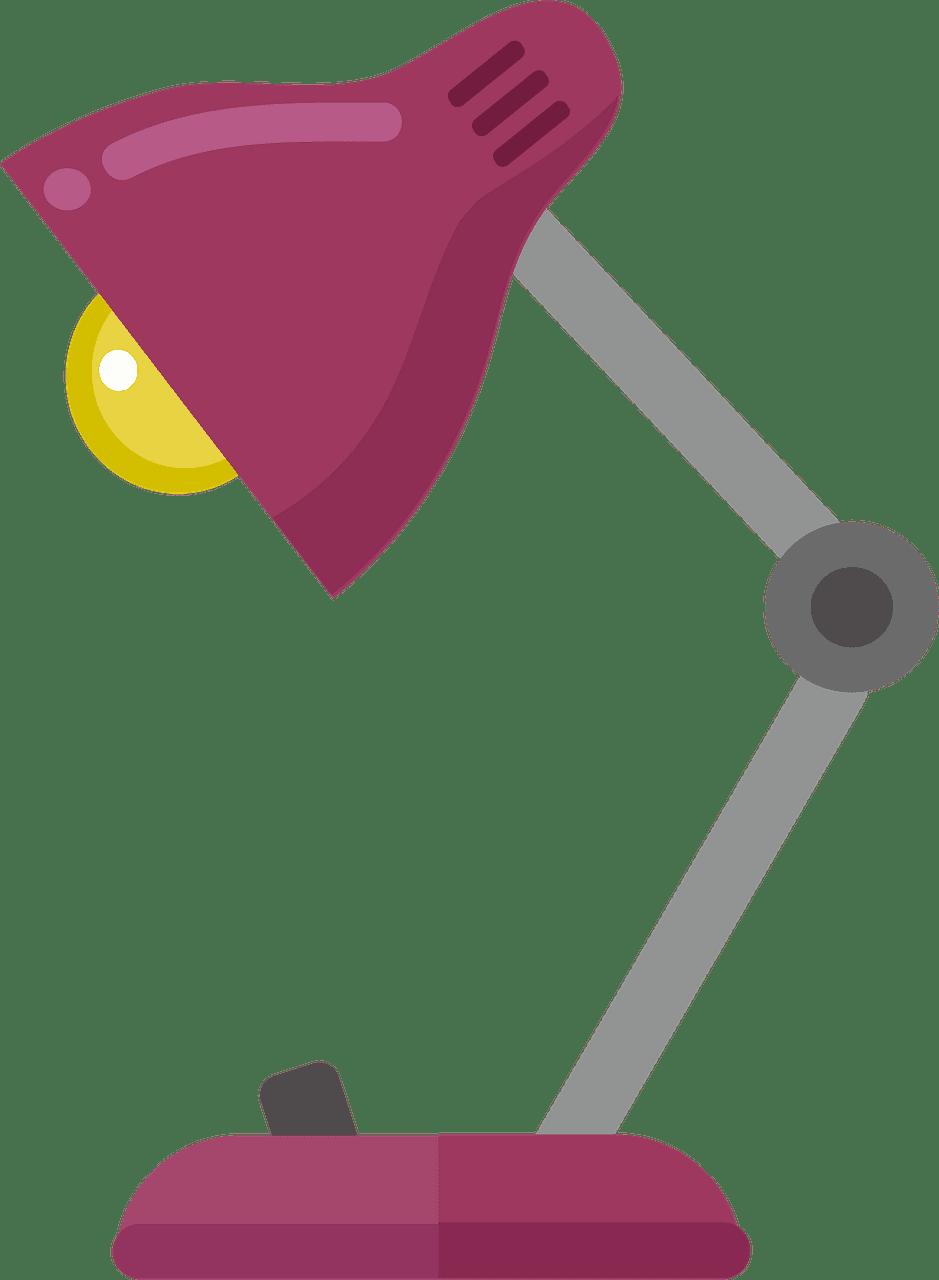 Lamp clipart transparent background 3