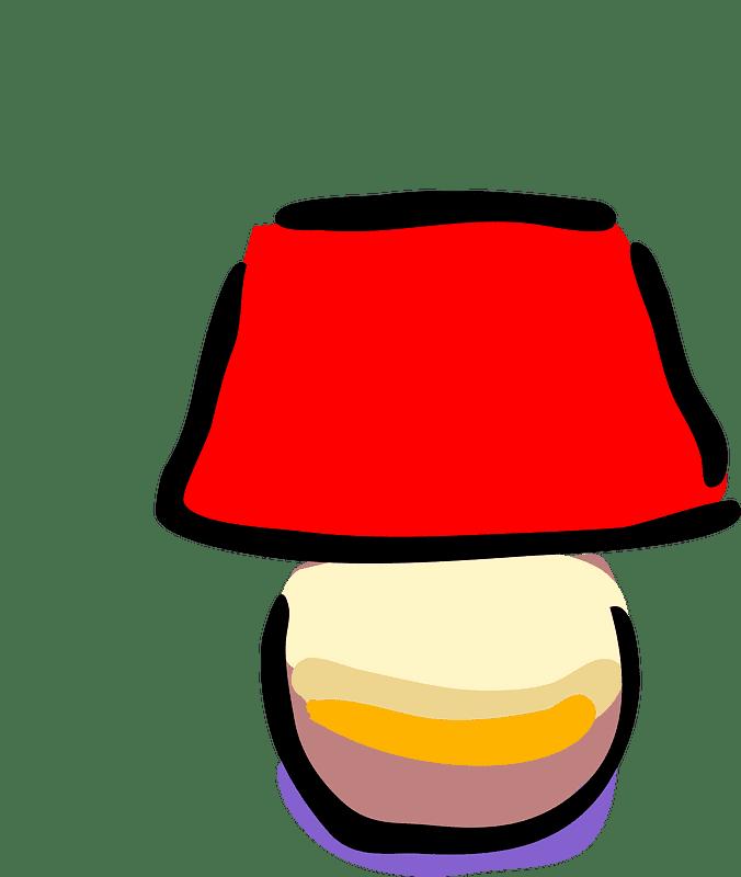 Lamp clipart transparent background 4