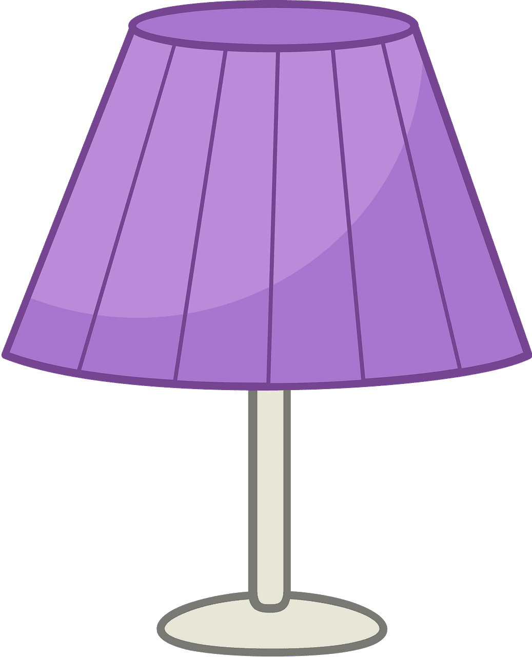 Lamp clipart transparent background 6