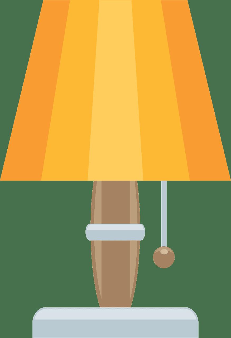 Lamp clipart transparent background