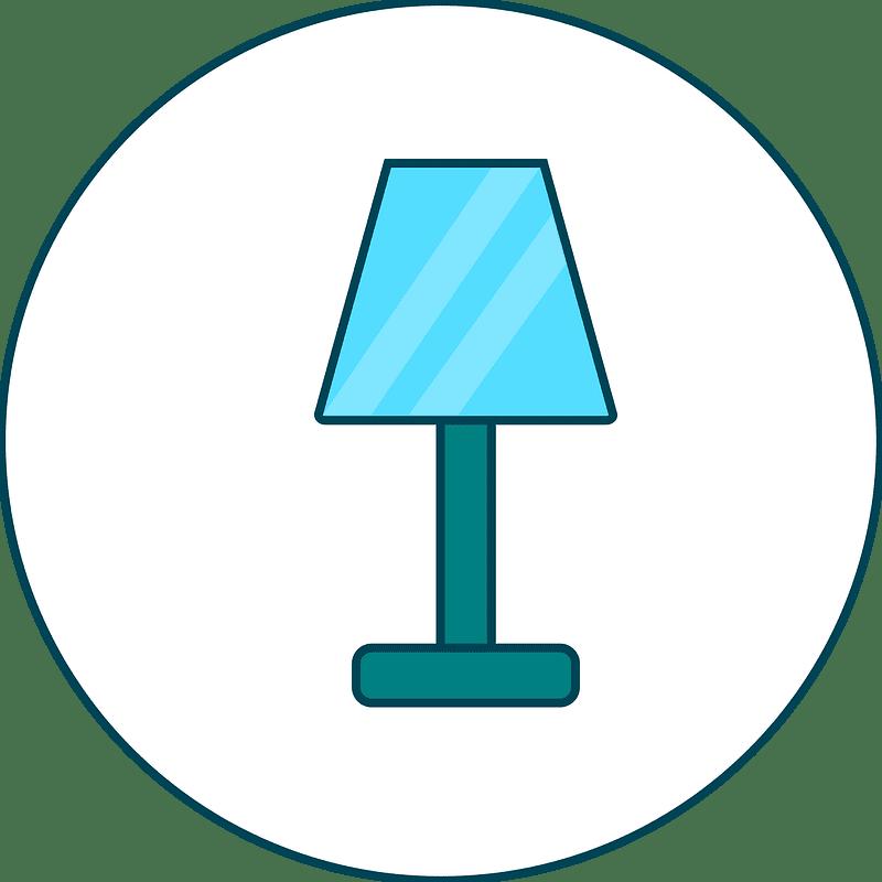 Lamp clipart transparent for kids