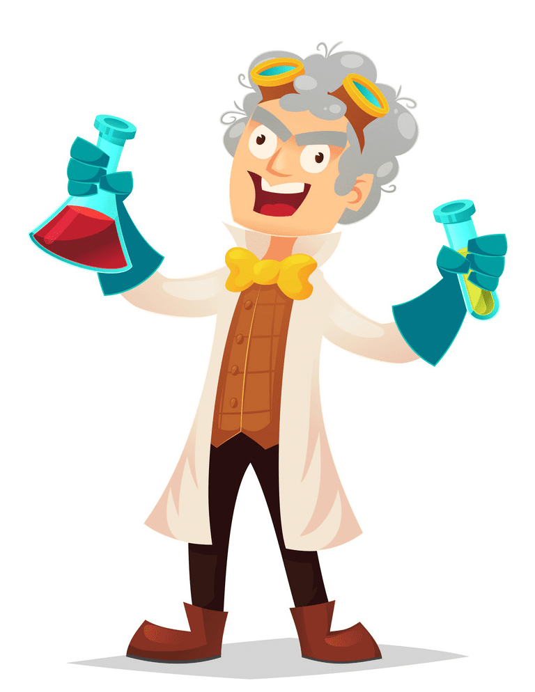 Mad Scientist clipart free download