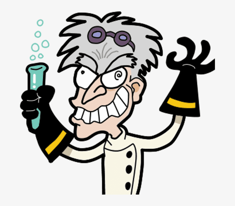 Mad Scientist clipart free image