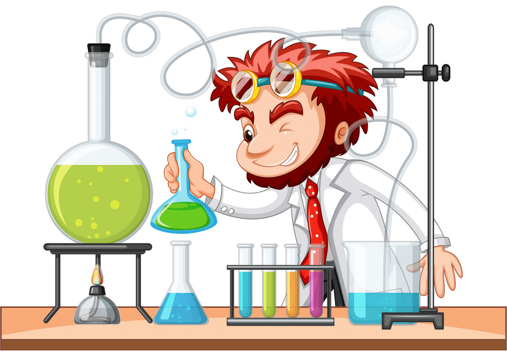 Mad Scientist clipart image