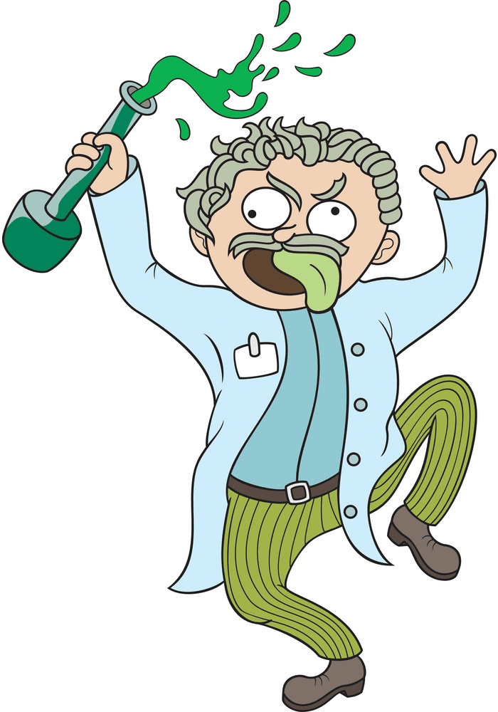 Mad Scientist clipart png free