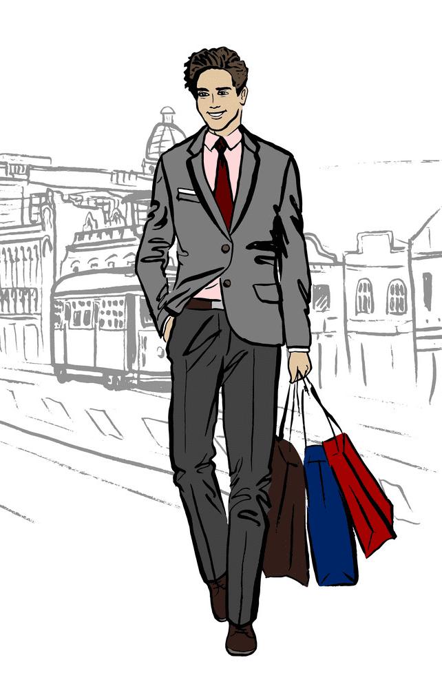 Man Walking clipart 4