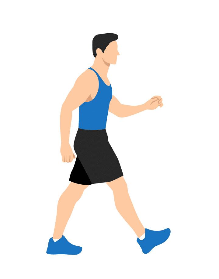 Man Walking clipart 5