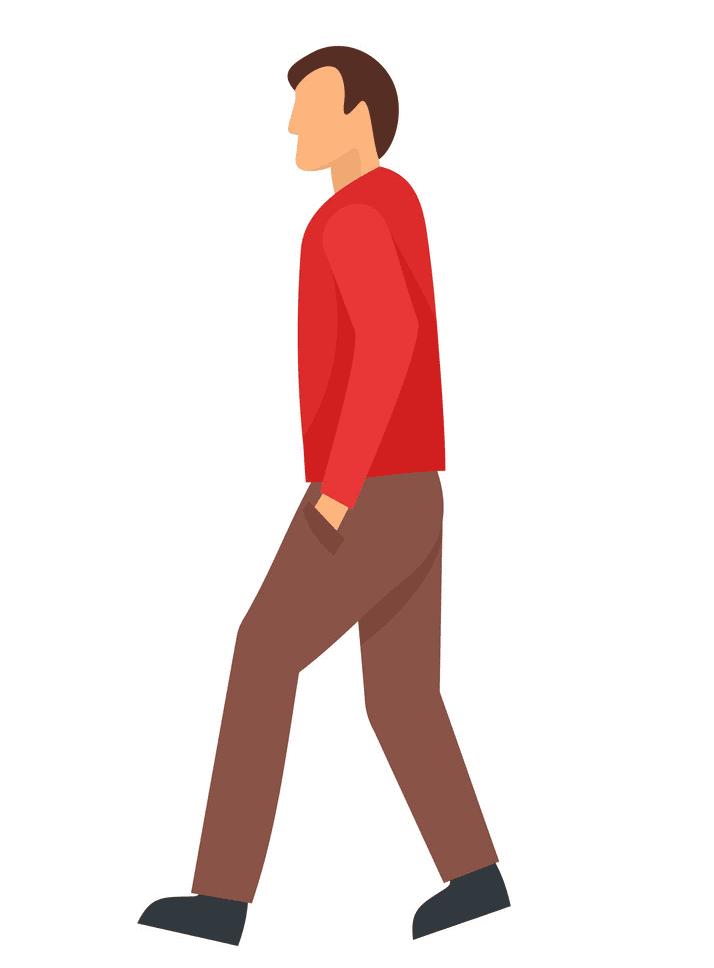 Man Walking clipart 6