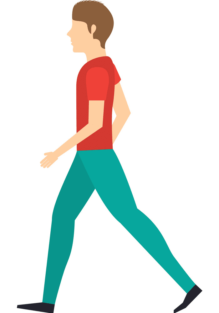 Man Walking clipart for free