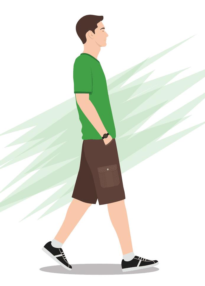 Man Walking clipart free download