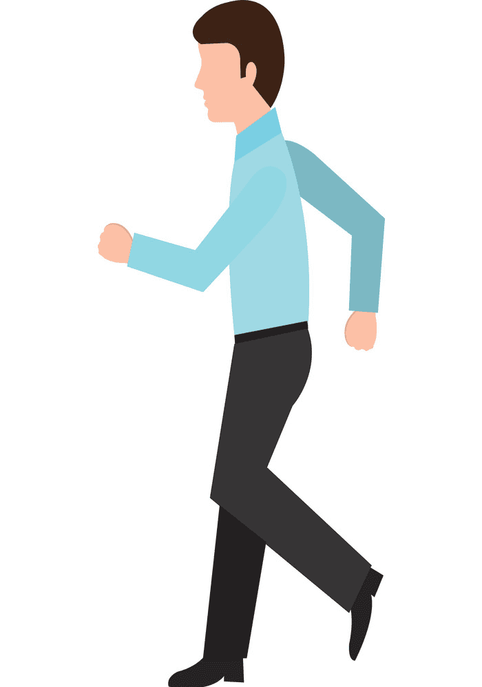 Man Walking clipart image