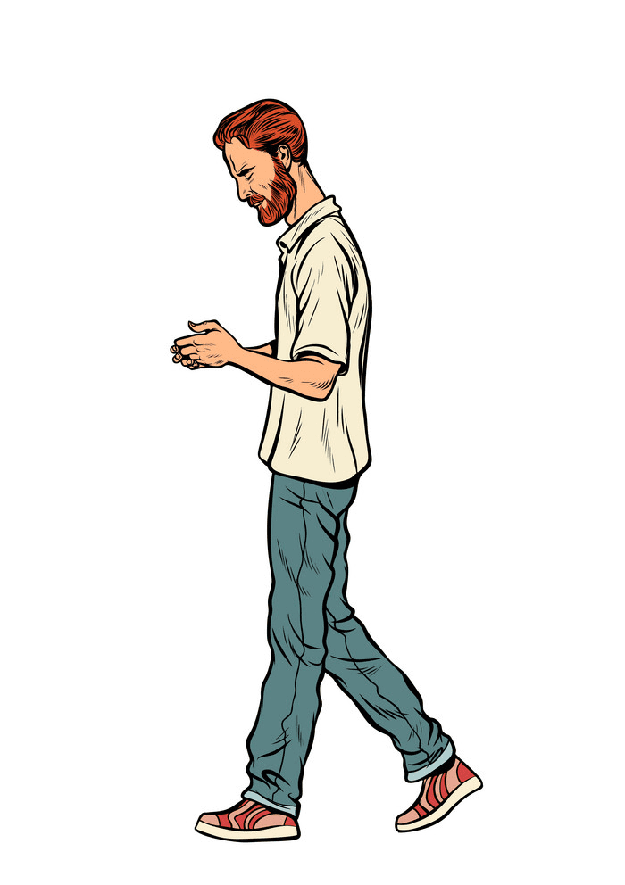 Man Walking clipart picture