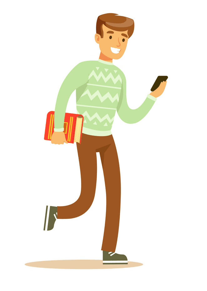 Man Walking clipart png image