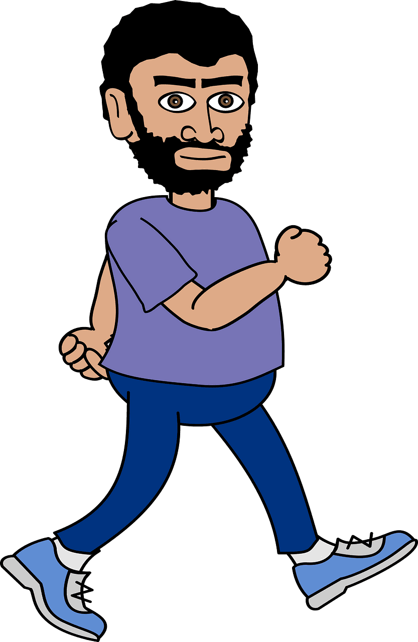 Man Walking clipart transparent 1