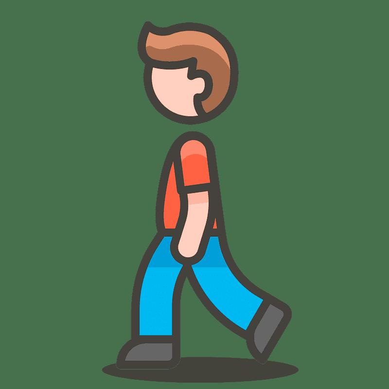 Man Walking clipart transparent 2
