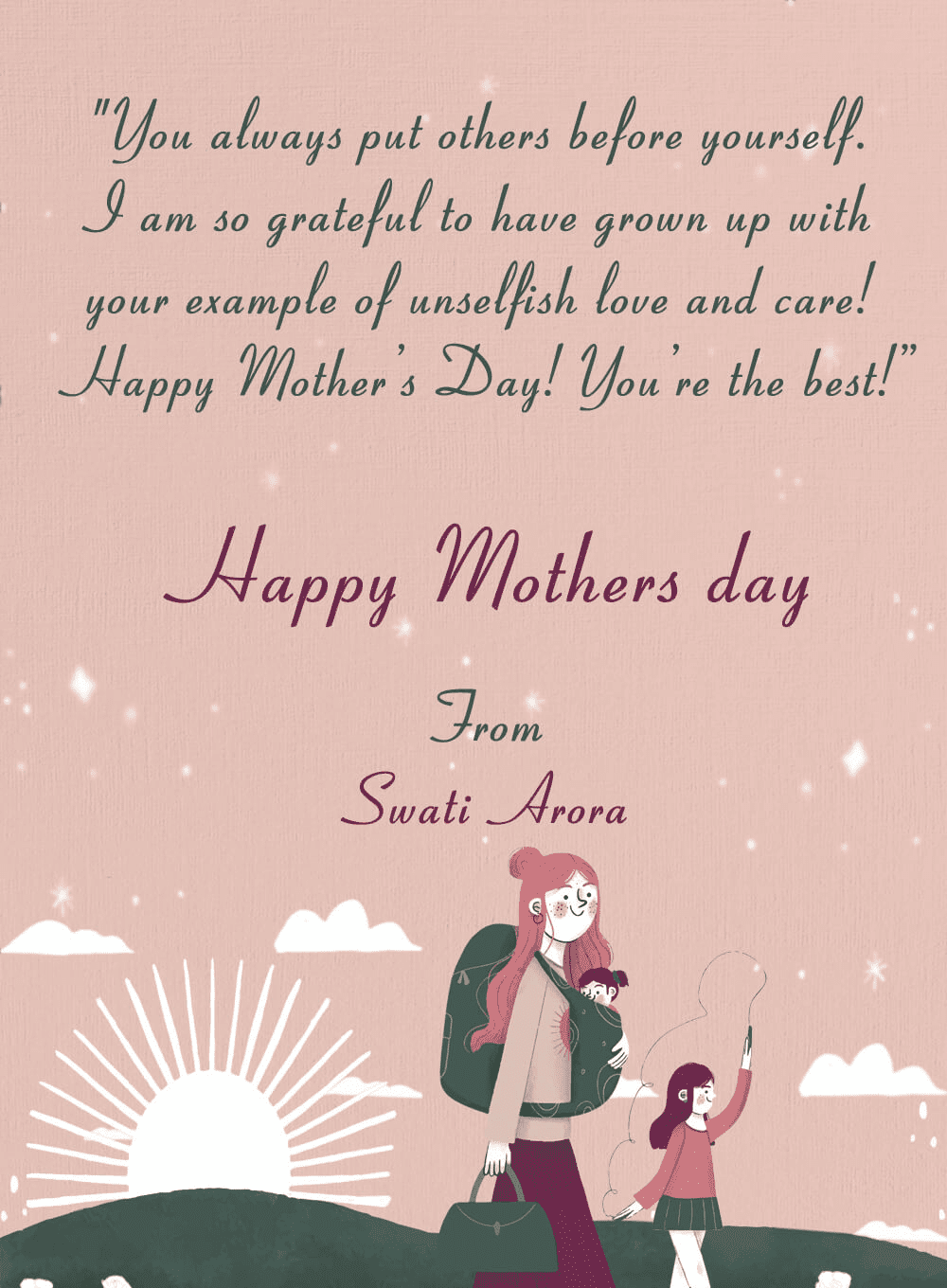 Mother's Day Wishes 12