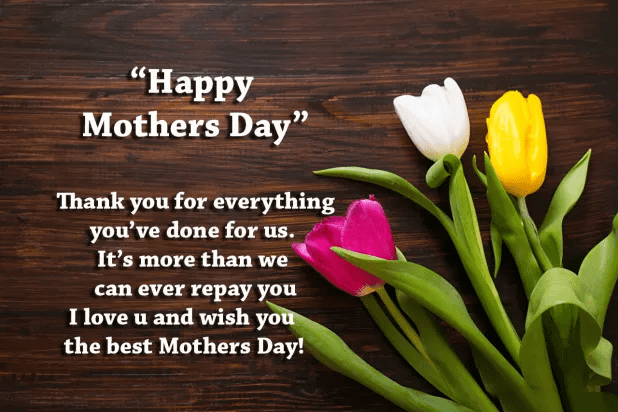 Mother's Day Wishes png 1