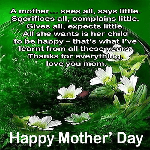 Mother's Day Wishes png 2