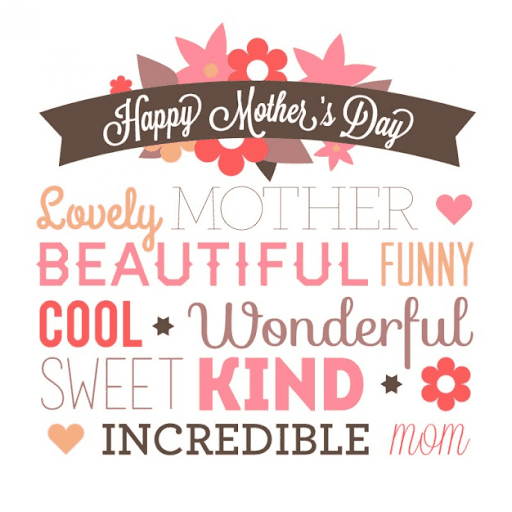 Mother's Day Wishes png image 10
