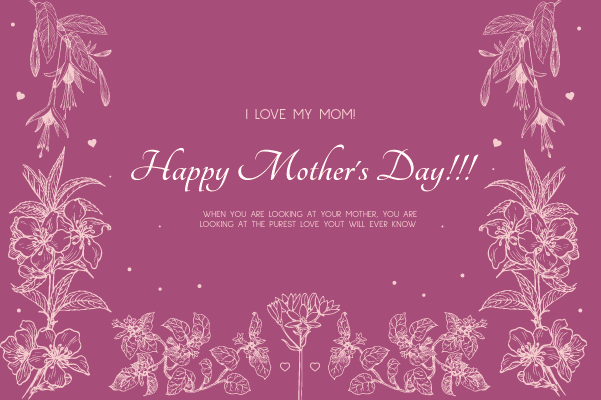 Mother's Day Wishes png image 6