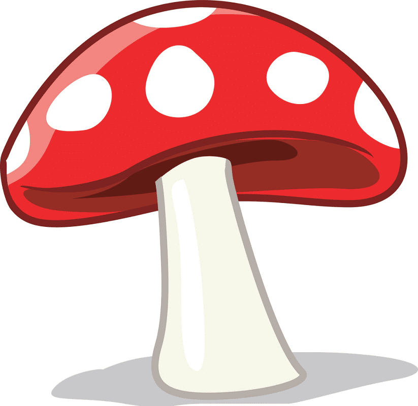 Mushroom clipart free