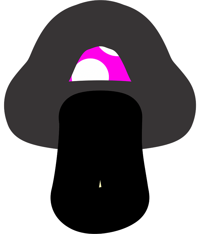 Mushroom clipart transparent 1
