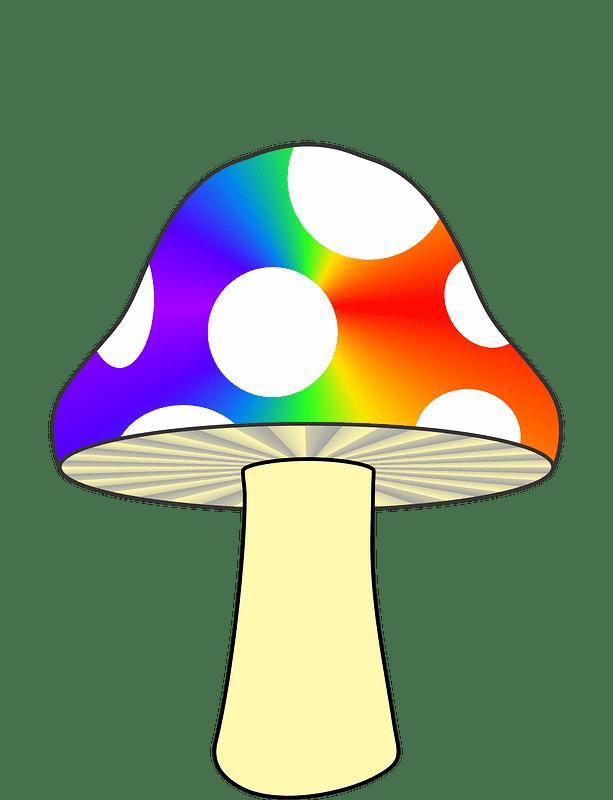 Mushroom clipart transparent 7