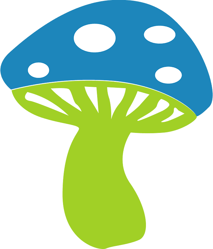 Mushroom clipart transparent background 1