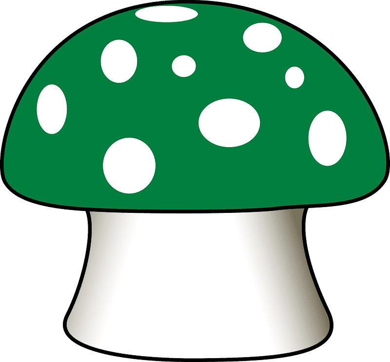 Mushroom clipart transparent background 3