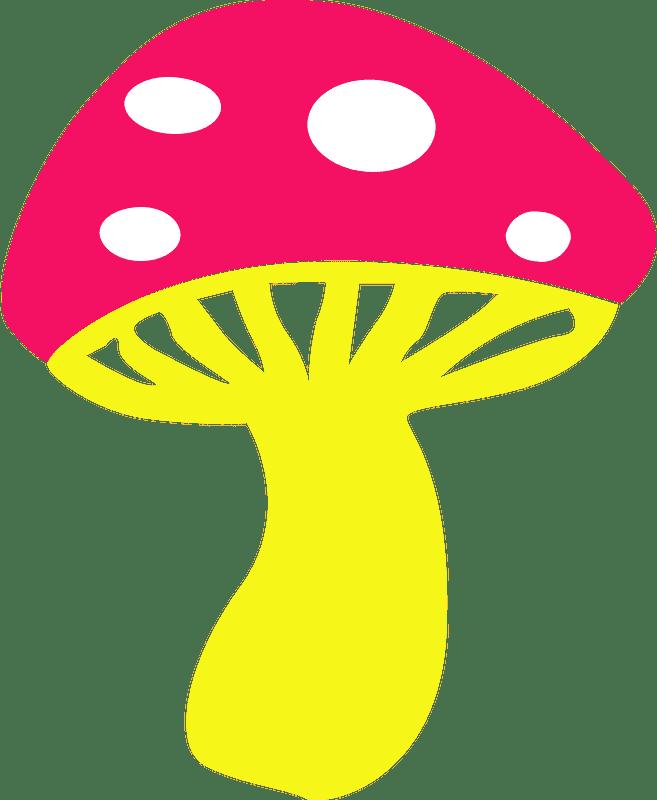 Mushroom clipart transparent background