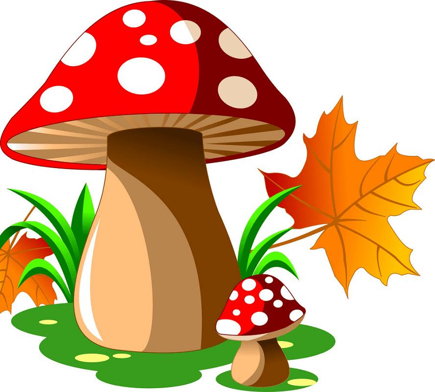 Mushrooms clipart png free