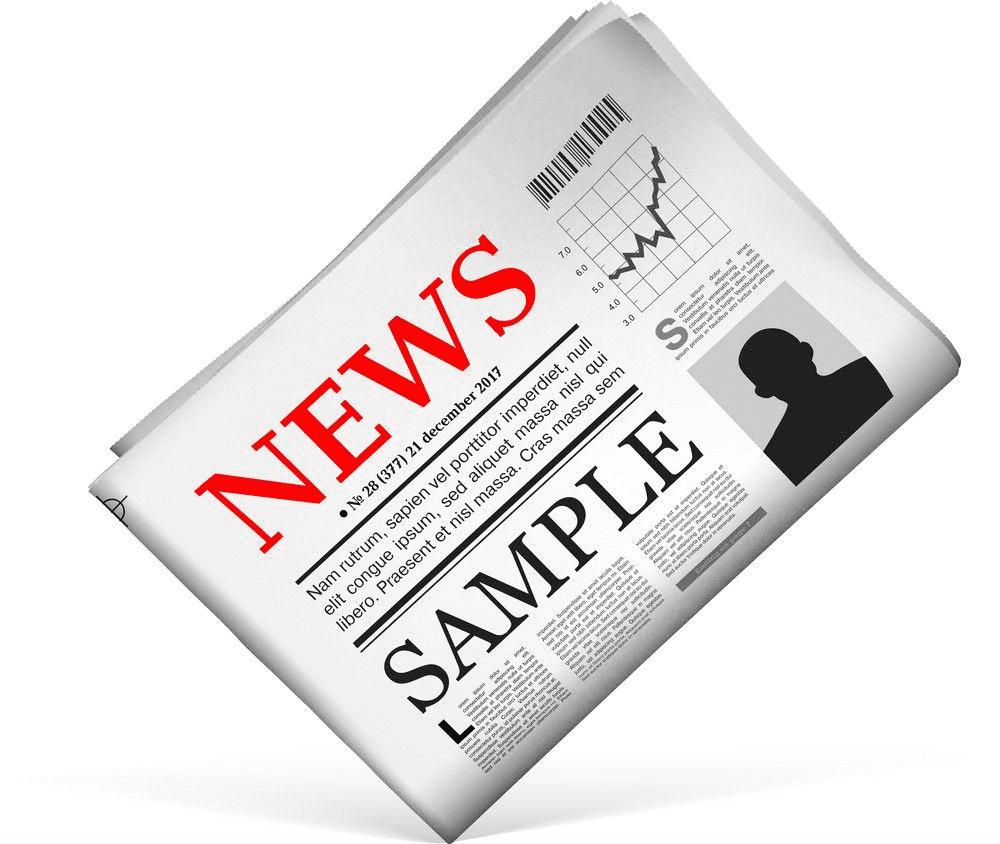 Newspaper clipart 1