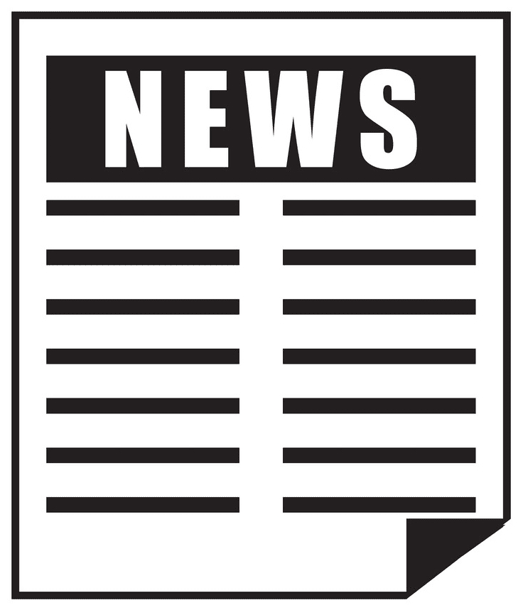 Newspaper clipart 10