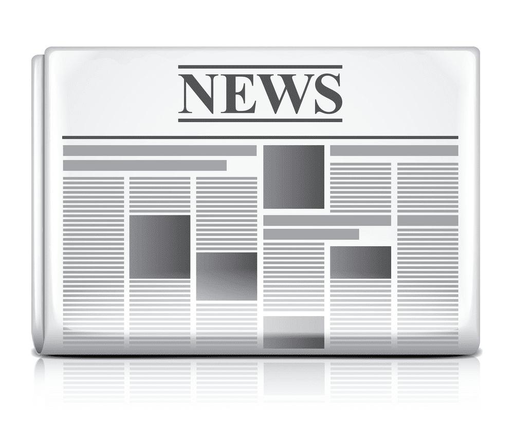Newspaper clipart 5