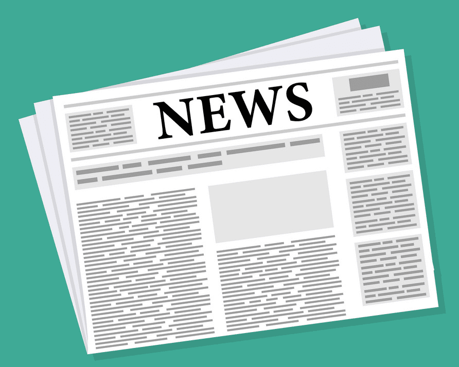 Newspaper clipart for free