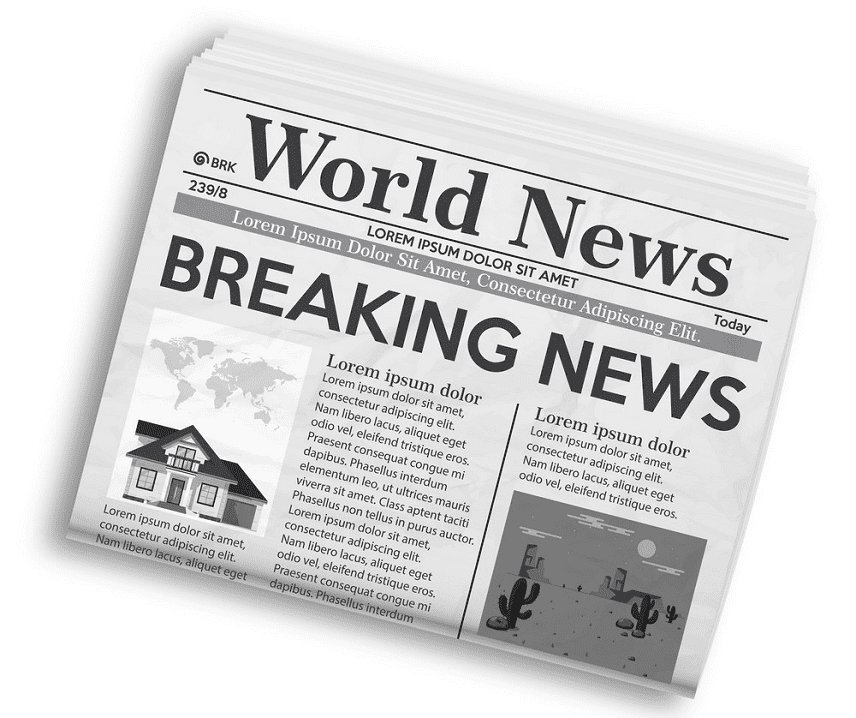 Newspaper clipart free download