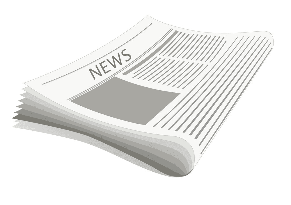 Newspaper clipart free image