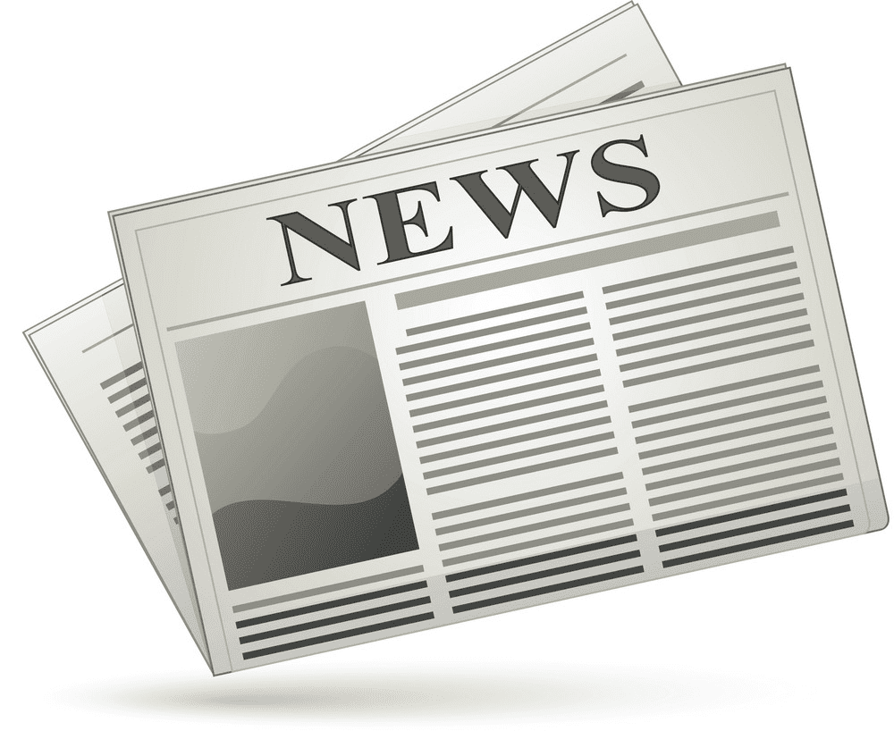 Newspaper clipart image