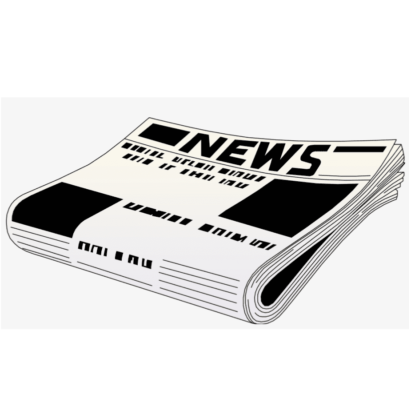 Newspaper clipart png 1