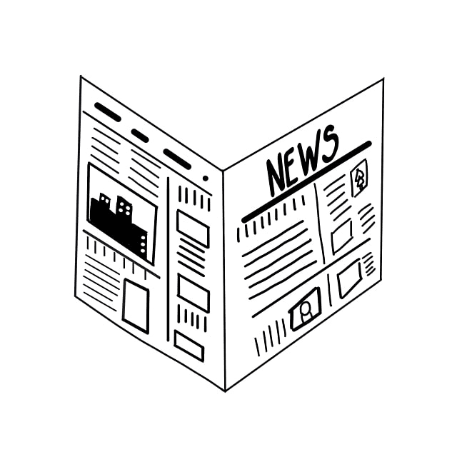 Newspaper clipart png 4