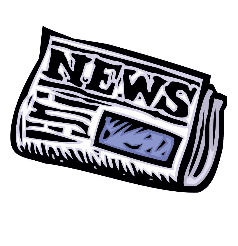 Newspaper clipart png 5