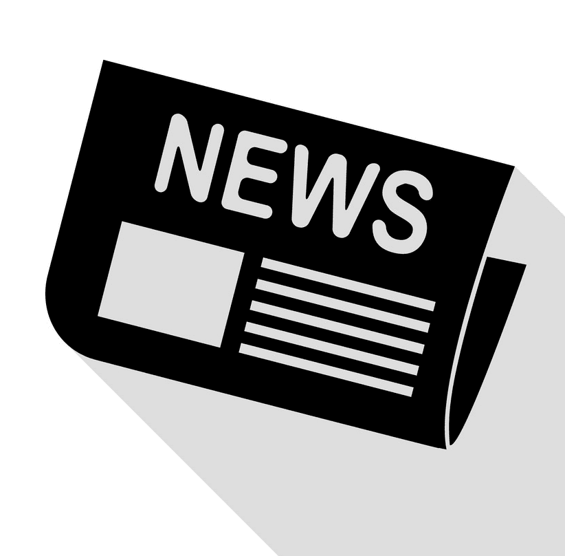 Newspaper clipart png 8