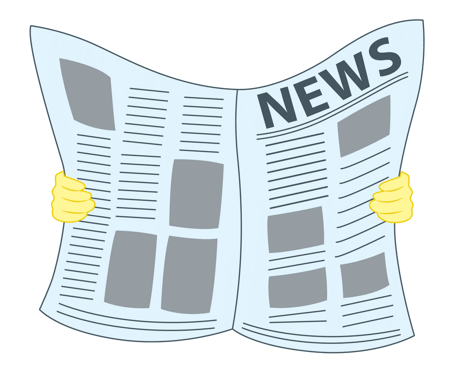 Newspaper clipart png for kids
