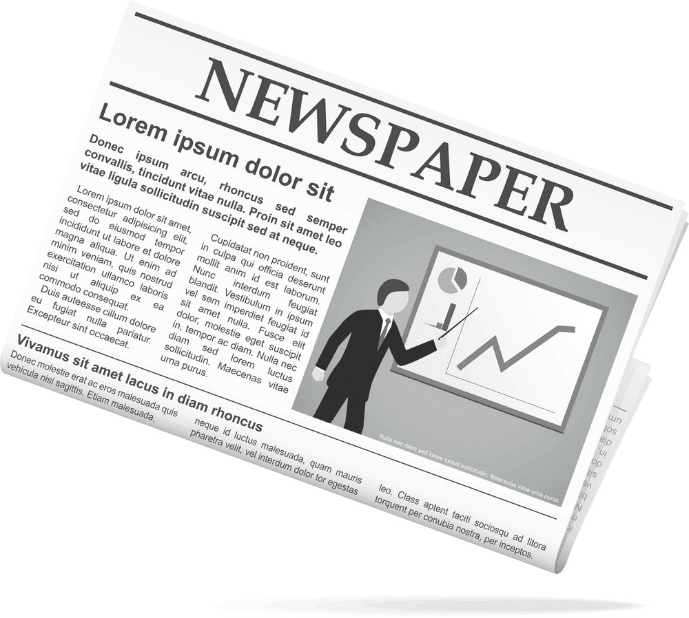 Newspaper clipart png free